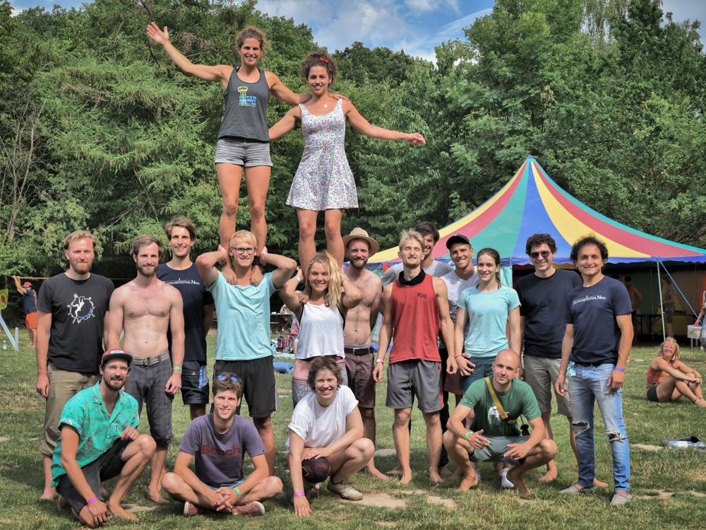 Gruppenfoto beim NRW Festival